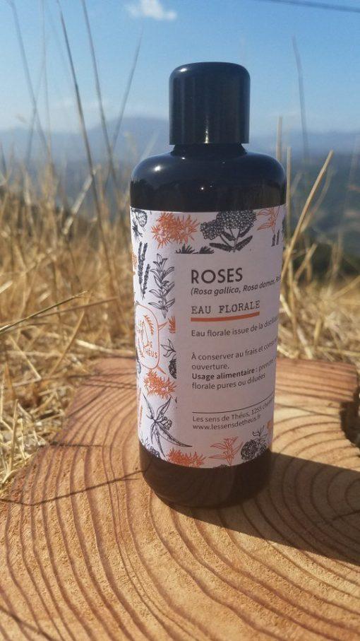 Roses eau florale