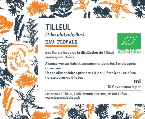 Eau florale Tilleul Bio et Simples