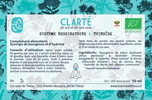 Chakra 5 Clarté Système respiratoire et Thyroïde Chakra de la Gorge wishuddha