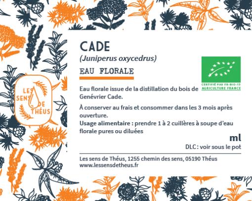 Eau florale Cade Bio et Simples